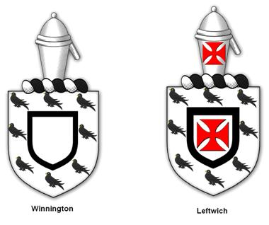 Winnington and Leftwich arms.