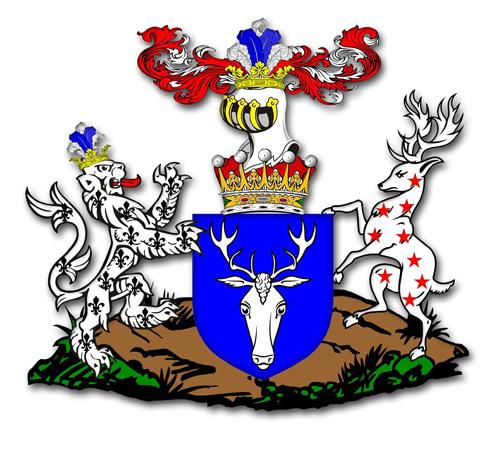 The heraldically correct Dartmouth Arms