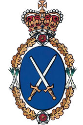 The official badge of a High Sheriff