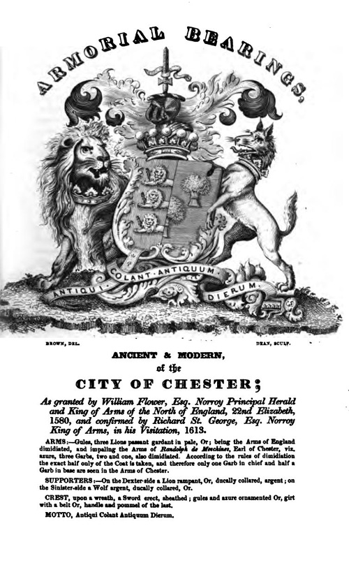 The arms of the City of Chester