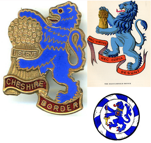 Girl Guide Cheshire Border County Badge